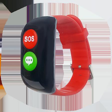 Браслет-телефон Кнопка Жизни Aimoto Amulet с измерением давления